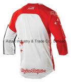 Desgaste de ciclagem dos esportes de Motorcross do projeto novo vermelho que compete Jersey (MAT57)