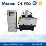 Máquina de grabado de escritorio de la pequeña manía para PVC, PWB, máquina de moldear del ranurador del CNC del shell de la tuerca/de la refrigeración por agua para el metal
