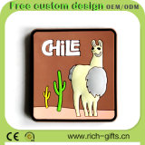 Kundenspezifische Förderung-Geschenk-Karikatur-Kühlraum-Magneten in der Andenken Chile (RC-CE)