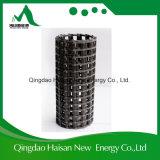 Fibra biaxial triaxial Geogrid de la fuerza del basalto de alta resistencia del poliester