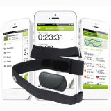 Bluetooth 4.0 Bodyfit Heart Rate Monitor per il iPhone