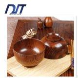 Atacado Unique Personalized Striped Wooden Rice Bowl