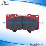 Almofada de freio das peças de automóvel para o jipe de Ford/Cherokee/rodeio/land rover/Tata/jaguar/Vauxhall/Hummer/Saab