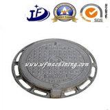 Tampas de câmara de visita da carcaça do ferro molde Ductile/cinzento do OEM para o tanque séptico