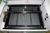 Acryllaser-Gravierfräsmaschine des gewebe-Leder-Papphölzernen Stich-4060