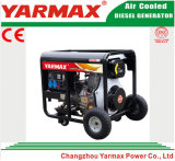 Groupe électrogène diesel simple refroidi par air de bâti ouvert de cylindre de moteur diesel de Yarmax Genset Ym2500ea