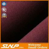 Tissu tissé fin de sergés de coton de 100% (A006)
