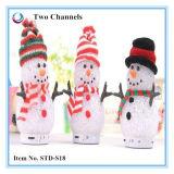 Altavoz de gama alta superventas de Bluetooth del muñeco de nieve de la Navidad 2016