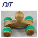 Massager di legno portatile del rullo del Massager di legno tenuto in mano di Boay