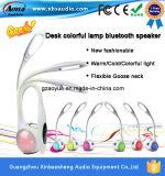 Le plus nouveau haut-parleur de Bluetooth de lampe de bureau de stand de la conception LED