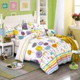 O fundamento do poliéster do algodão ajusta a boa qualidade para a HOME