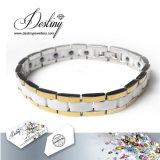 Cristalli dei monili di destino dal braccialetto di bianco della ceramica di Swarovski