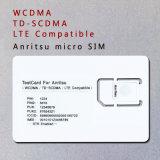 карточка испытания Lte карточки телефона 3G 4G WCDMA TD-SCDMA микро- SIM для Anritsu