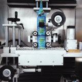 Machine à étiquettes de chemise de rétrécissement de PVC d'animal familier de deux têtes pour des bouteilles de boisson