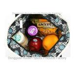 Изолированный Tote еды способа с аттестацией SGS в черном медальоне