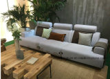 Sofá de la esquina de la tela de Eco