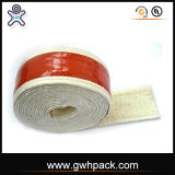De rode Band van Heatproof van de Glasvezel van het Silicone Rubber voor de Draden van het Staal