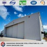 Structure pré conçue d'acier pour le hangar d'avions
