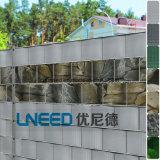 Cerca del encerado de la tira del PVC de Uneed para la protección Stein-Optik del jardín de la aislamiento