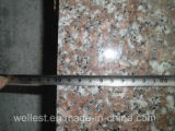 G687 Peach Flower/Peach Red /Peach Blossom Pink Granite Slab e Tile