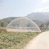 Casa pré-fabricada da abóbada do projeto moderno, custo da casa da abóbada da alta qualidade baixo, casa de aço da abóbada