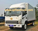 3-5 트럭 톤 FAW 화물 자동차 트럭 상자