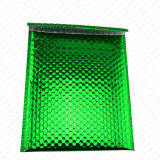 熱いカラー光沢のある金属緑のパッドを入れられた郵便利用者