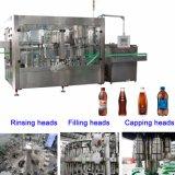 Bebidas carbonatadas SUS304 que llenan la máquina que capsula