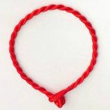 Monili Handmade dei braccialetti fortunati del braccialetto della corda rossa per il regalo delle coppie