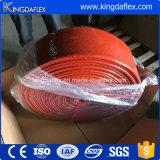 De silicone Met een laag bedekte Koker van de Brand van de Glasvezel voor Slang en Kabel