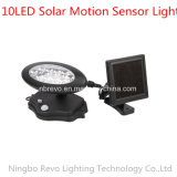 indicatore luminoso solare di obbligazione del sensore di movimento di 10LED PIR (RS2013)