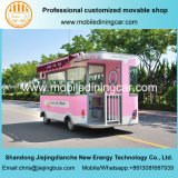 Ventes électriques mobiles de camion de glace douce chaude de ventes au monde entier