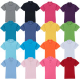 El cortocircuito del llano de la buena calidad del OEM del bulto envuelve la camisa de polo del piqué