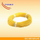 赤く黄色いケーブルのガラス繊維によって絶縁される熱電対ケーブルKPX KNX