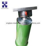 Único cilindro hidráulico ativo para a ceifeira de liga do trigo