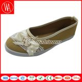 Madame unique Flat Canvas Leisures Shoes de PVC