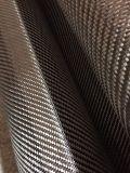 Fibra del carbón de Wovening de la tela cruzada de Toray 1k 120g