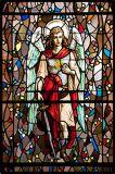 カテドラルガラスのデジタル印刷は模造された緩和された薄板にされた構築の窓ガラスのドアを塗った