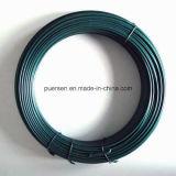 Fio galvanizado PVC/fio de aço revestimento plástico