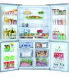 교차하는 문 병렬 냉장고