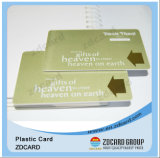 4色刷の挨拶状VIPのカードのParperのカード