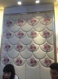 panneau de mur acoustique de décoration de panneau de mur 3D Roolls doux décoratif