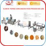 Línea de la transformación de los alimentos de bocados del maíz de Choco