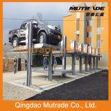 sistema hidráulico del estacionamiento del poste 2700kg dos (Hidráulico-parque 1127)
