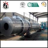 Estufa giratória para a produção de carvão vegetal e de carbono ativado