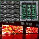 Quadro de avisos ao ar livre do diodo emissor de luz da cor cheia da qualidade P10 da imagem excelente o melhor