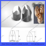 Tungstênio Carbide Conical, Dome Bits para Coalmining