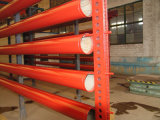 Programma 40 Grooved Painted Seamless Steel Pipe per Sprinkler