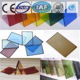 F-Grünes abgetönter/freier Gleitbetrieb/milderte reflektierendes Glas für Gebäude
