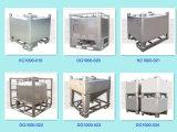 1000L réservoir de poudre de l'acier inoxydable IBC
